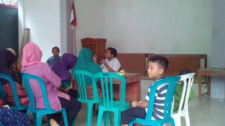 Rakor PEMDES Sidomulyo dengan Guru Pengasuh PAUD, TK dan TPA