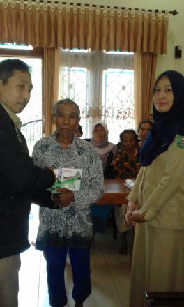Perawatan Posyandu Lansia tahun 2017